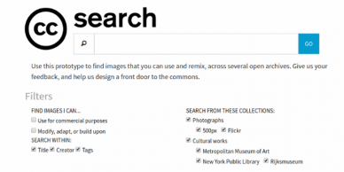 Crative Commons Luncurkan Search Engine Baru