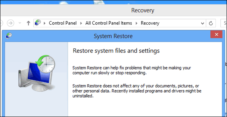 Cara Restore, Refresh, atau Reset Instalasi Windows 8