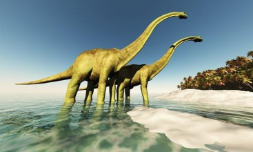 Populasi Dinosaurus Menurun sebelum Bencana Asteroid