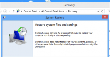 Cara Restore, Refresh, atau Reset Instalasi Windows 8