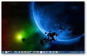 Cara Ubah Warna Taskbar Windows 7 tanpa Software