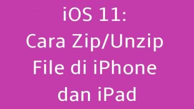 Cara Zip/Unzip File di iPhone dan iPad